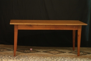 n. 142 - Tavolo - ciliegio - epoca 1860 - cm. 78 x 174 x 74